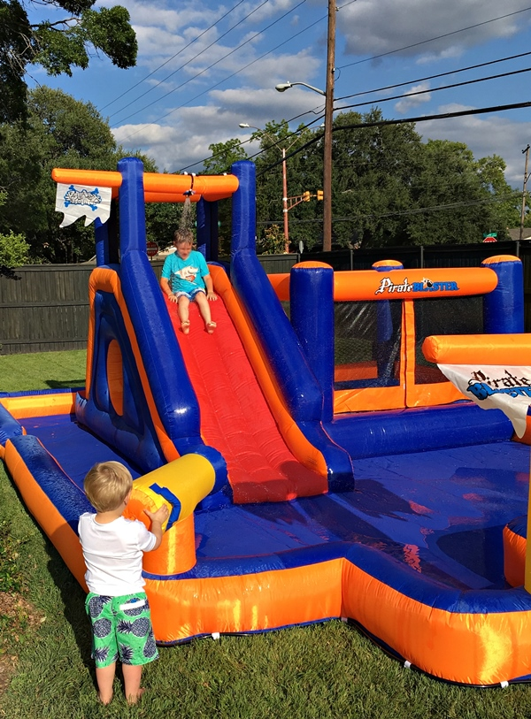 Water Bounce House 1