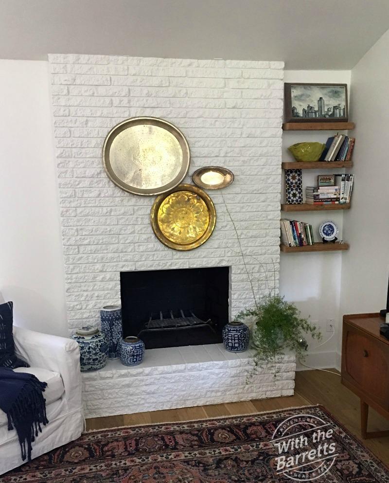 Fireplace arrangement