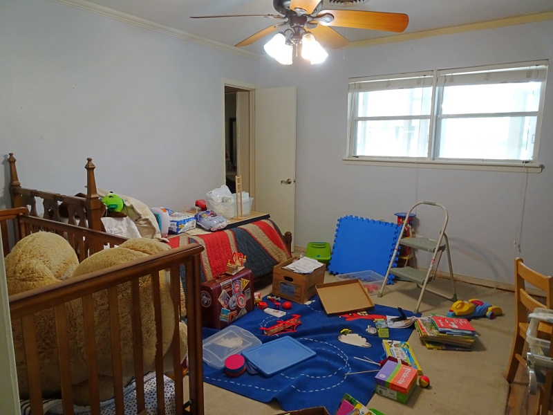 Boys' Room Interim Mess