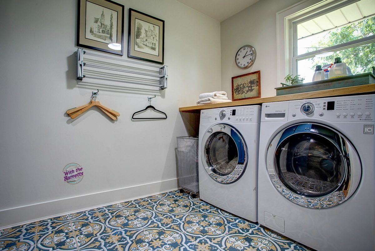 Laundry Room & Window