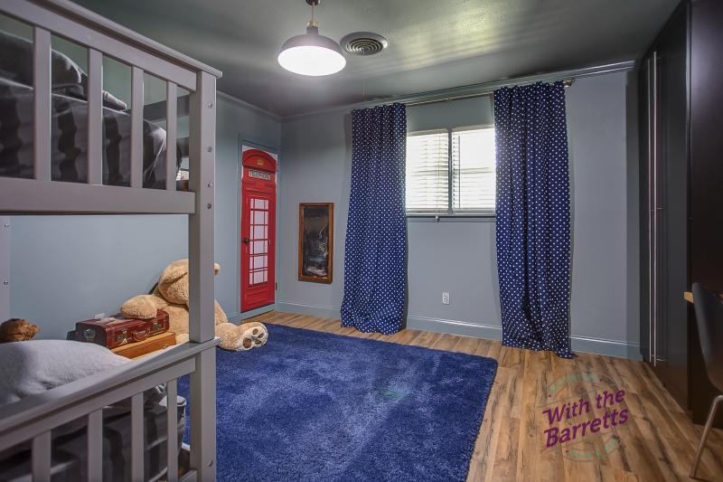 Boys' Room Window View