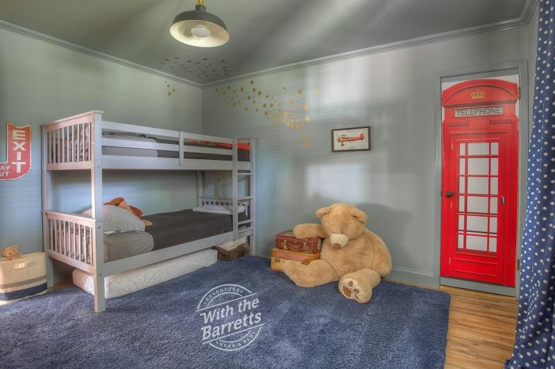 Boys' Room View to Bath Door