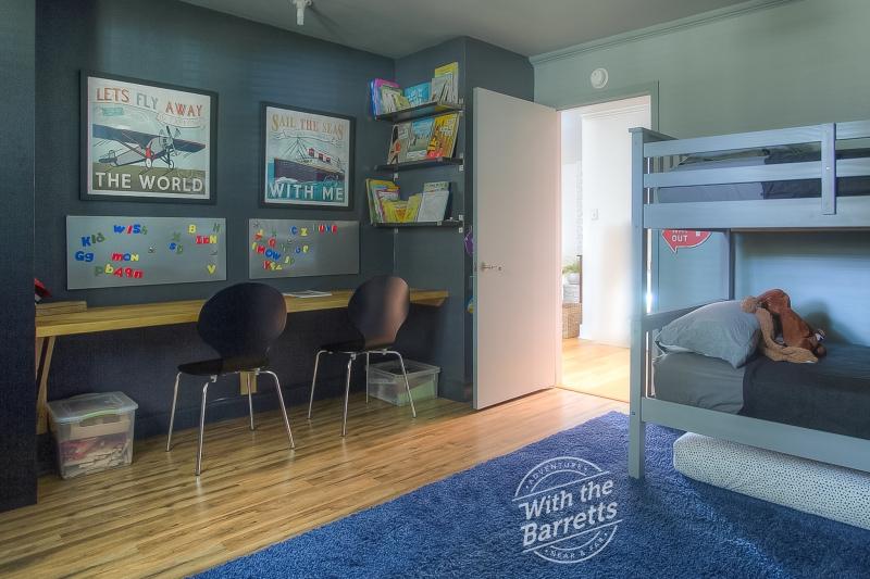 Boys' Room View to Hallway