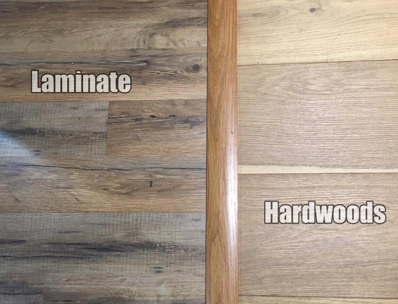Laminate Hardwood Comparison