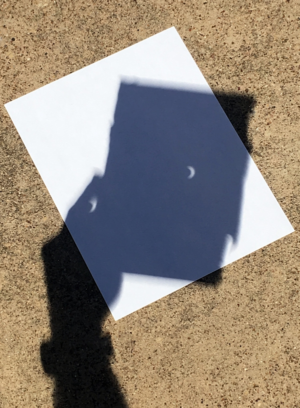 Another image of the eclipse