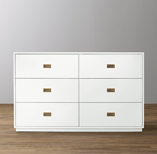 Restoration Hardware 6 drawer chest