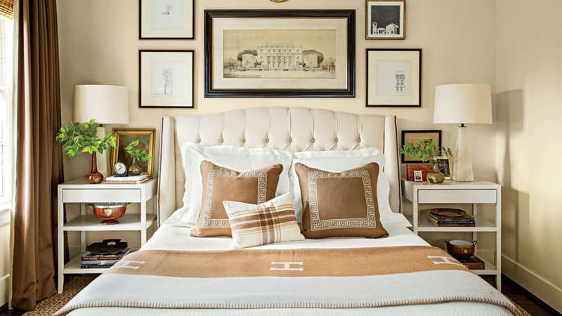 Bedroom from Southern Living