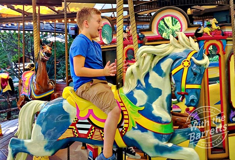 Grandboy 1 on a horse
