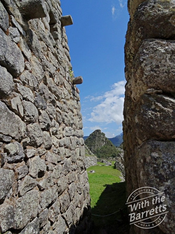Path at Machu Picchu