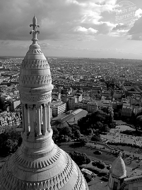 City view from Sacre Coeur