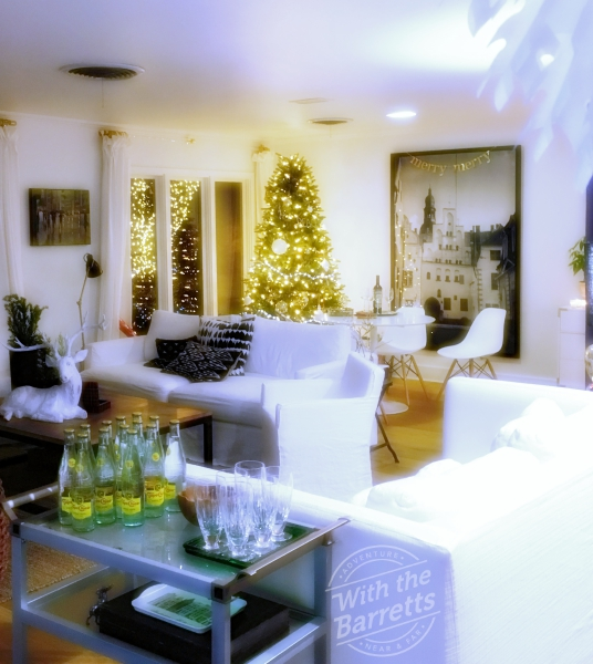 Hildring House Living Room Xmas
