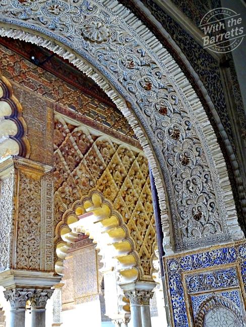 Acazar architectural detail