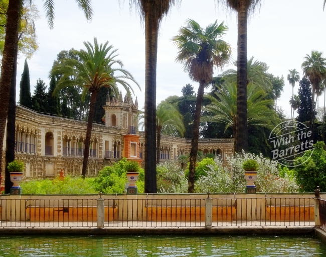 Gardens at the Alcazar