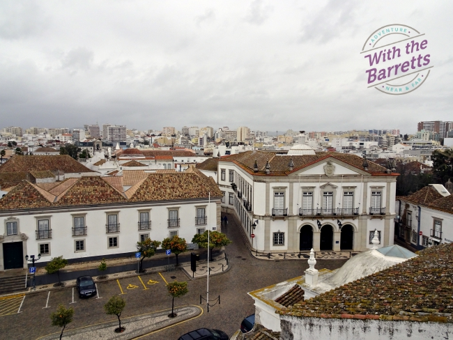 View from the Cathedral in Old Town Faro