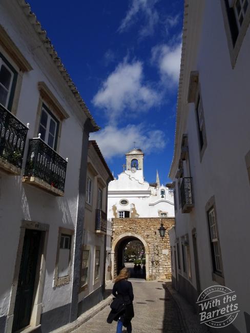 Faro Old Town Gate