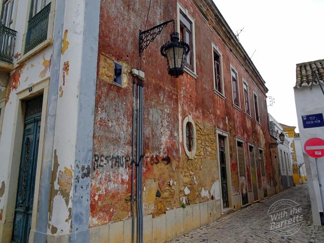 rustic alleyway