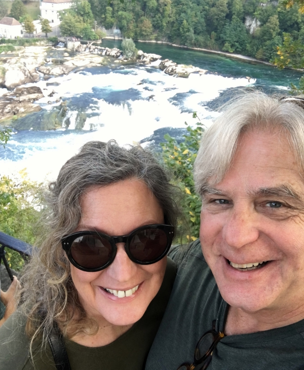 Rheinfall Silly Selfie