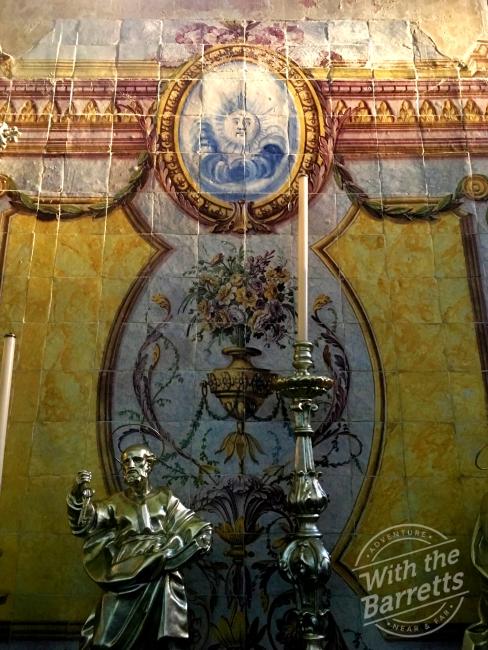 Altar shrine at St. Antonio