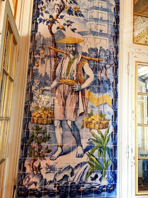 2nd interior tile panel at Queluz