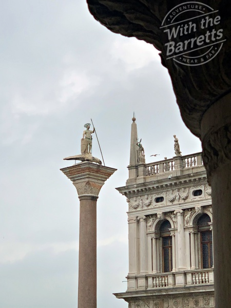 Column at St. Mark's Piazza