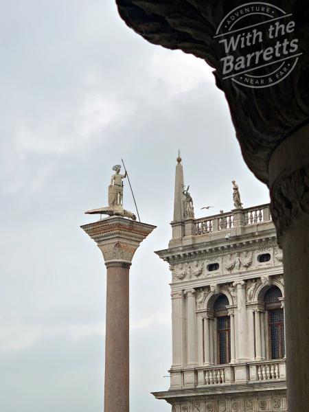 Column at St. Mark's Piazza